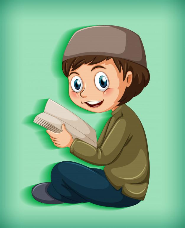 ninos musulmanes leyendo libros 1308 46719