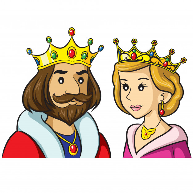 rey reina dibujos animados 119631 10